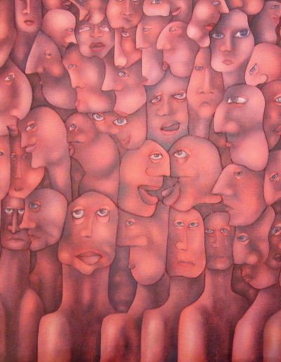 Senza titolo (Le teste rosse), 2005