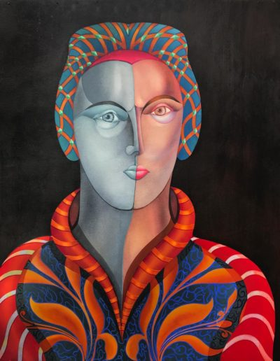 Ma soeur Franca, 2003, 66x80 cm